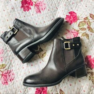 Franco Sarto Cruze leather ankle boot bootie 7